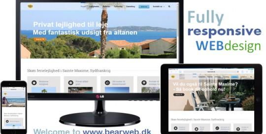 Ny Sainte Maxime hjemmeside