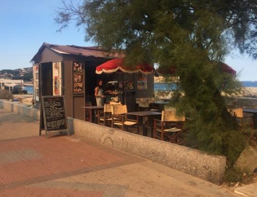 (Juli) Hyggeligt lille pizzaria på La Croissette