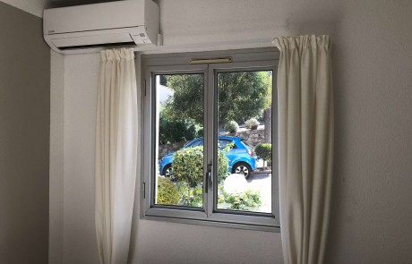 Soveværelse med Aircondition