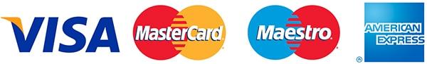 Vi modtager betalingskort